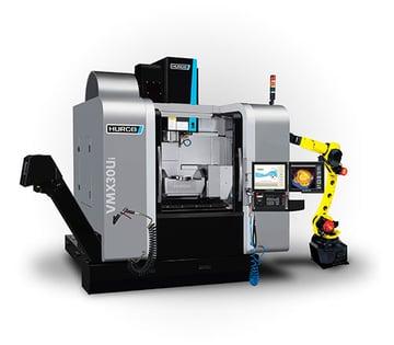 Hurco-VMX30Ui-with-FANUC-Robot