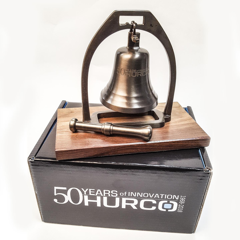 Hurco_50th_Nasdaq_Desk_Bell_01