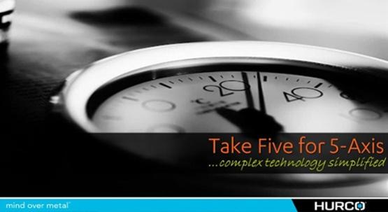Take 5 for 5-axis Webinar