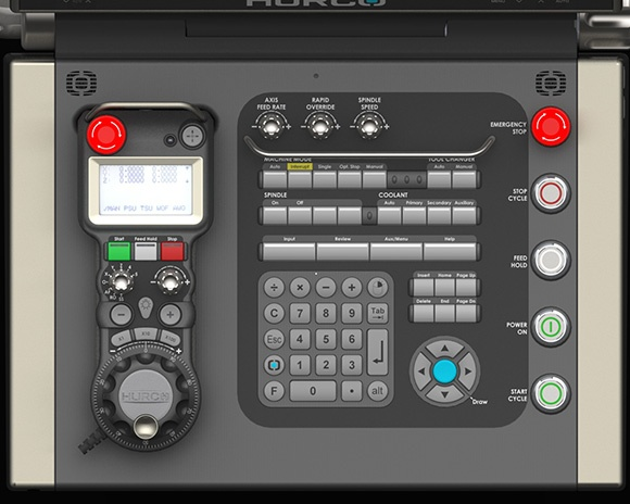 The Hurco MAX5 Console Keypad