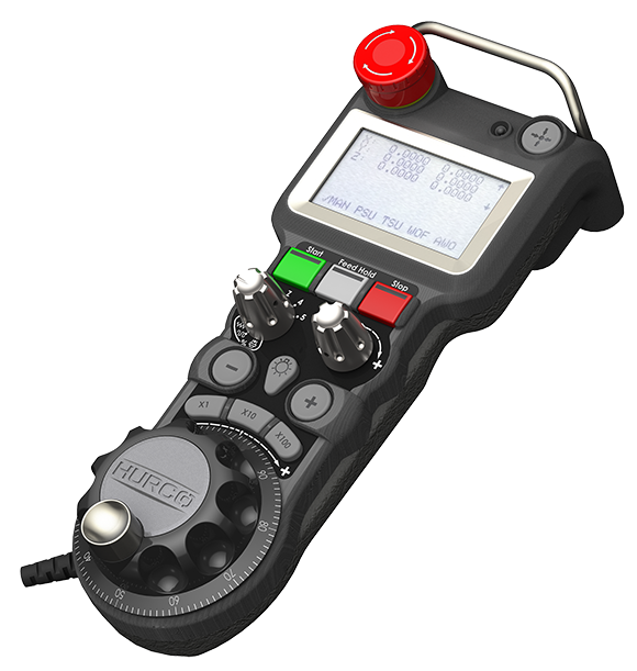 The Hurco MAX5 Console Remote Jog