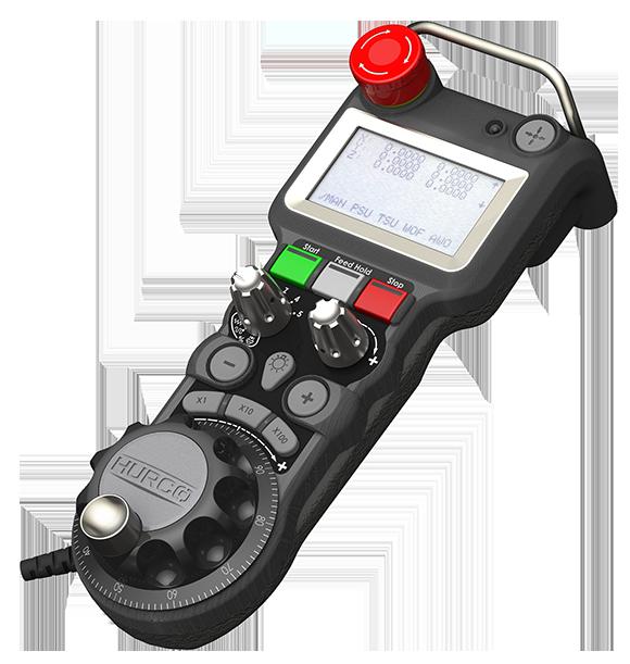 The Hurco MAX5 Console Remote Jog